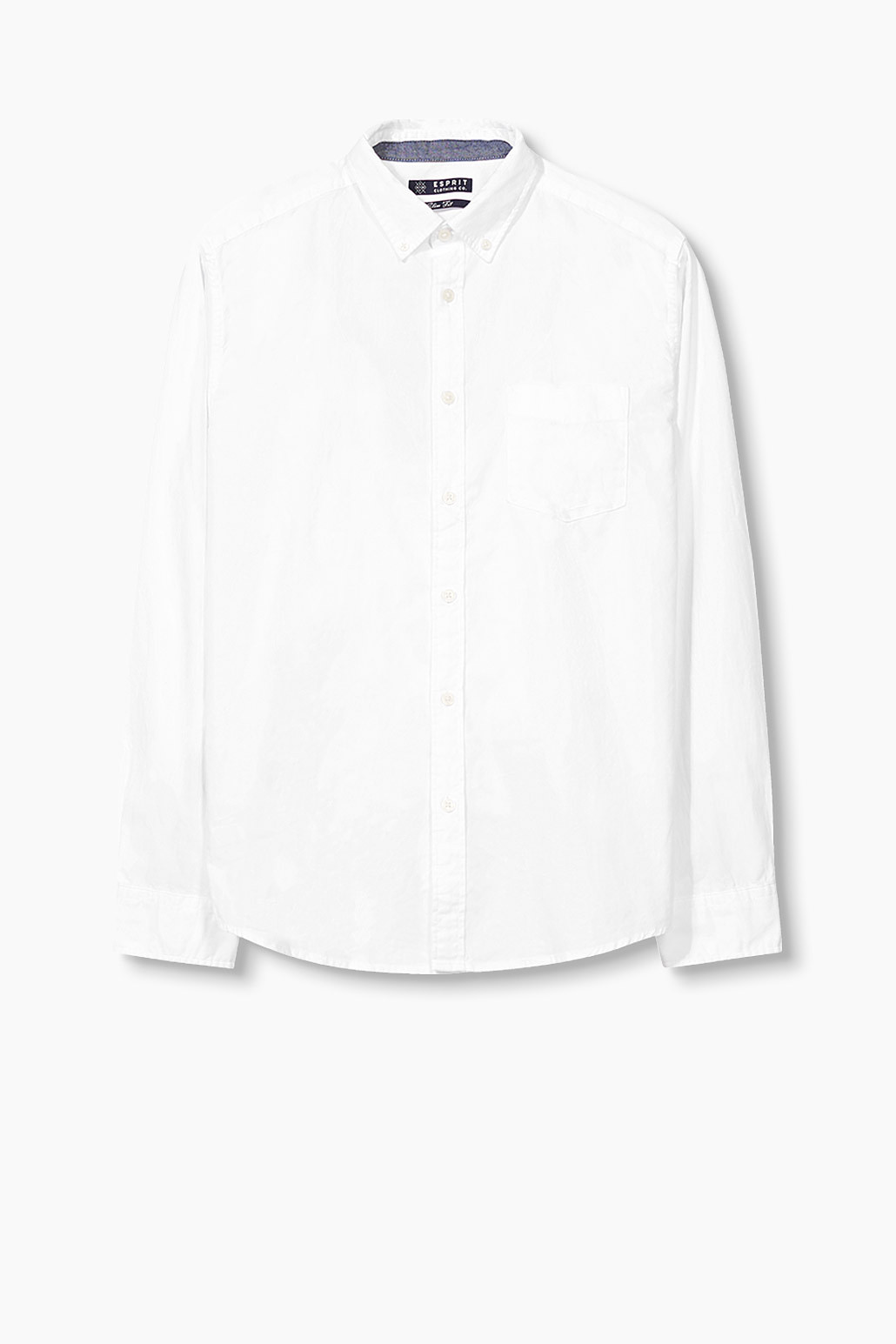 Esprit White - 100 Slim Fit Oxford Shirt