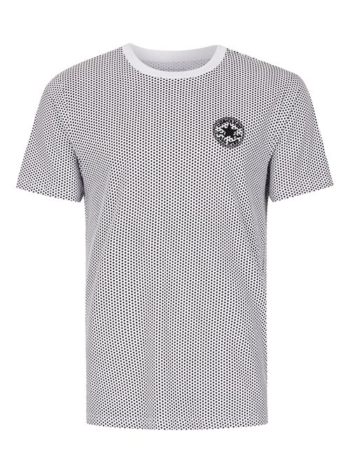 Converse white and black dot t-shirt