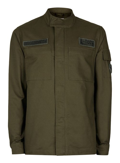 Topman Green Khaki m65 jacket