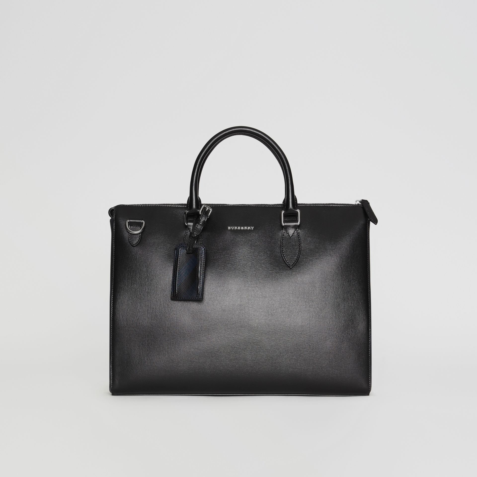82d580e015d2 Large London Leather Briefcase by Burberry — Thread