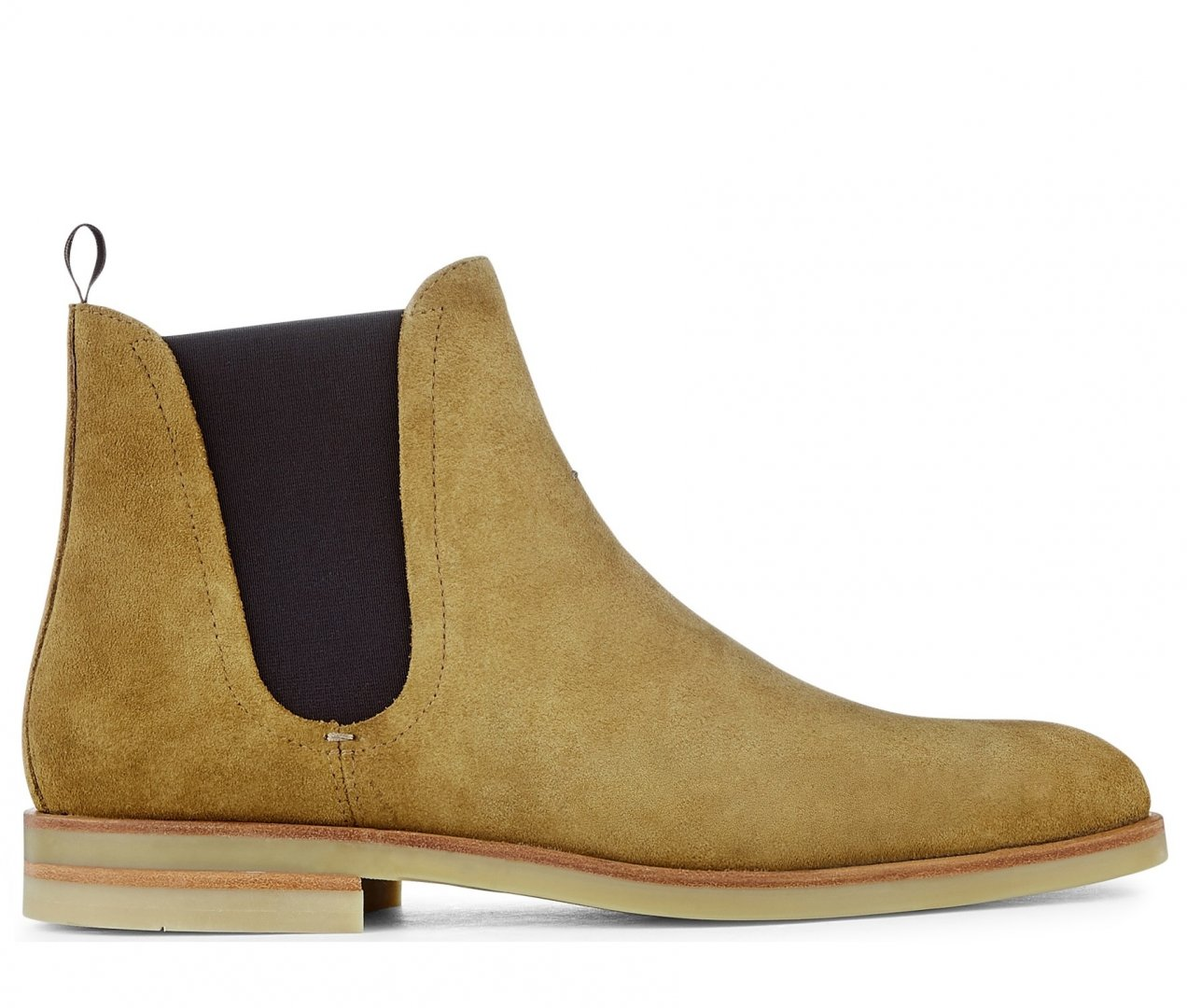 Adlington Suede Camel Chelsea Boot by