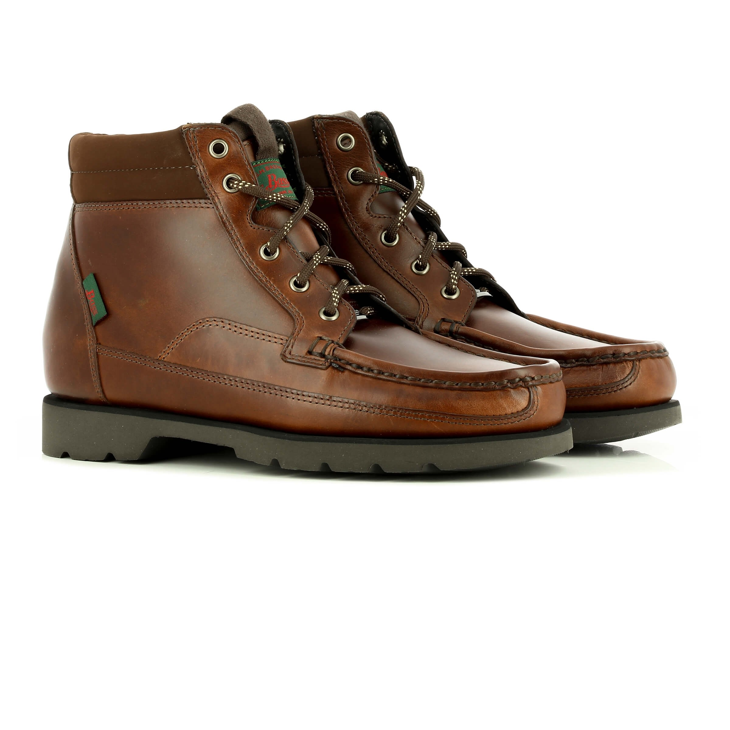 Stockton Boot Dark Brown Leather by G.H