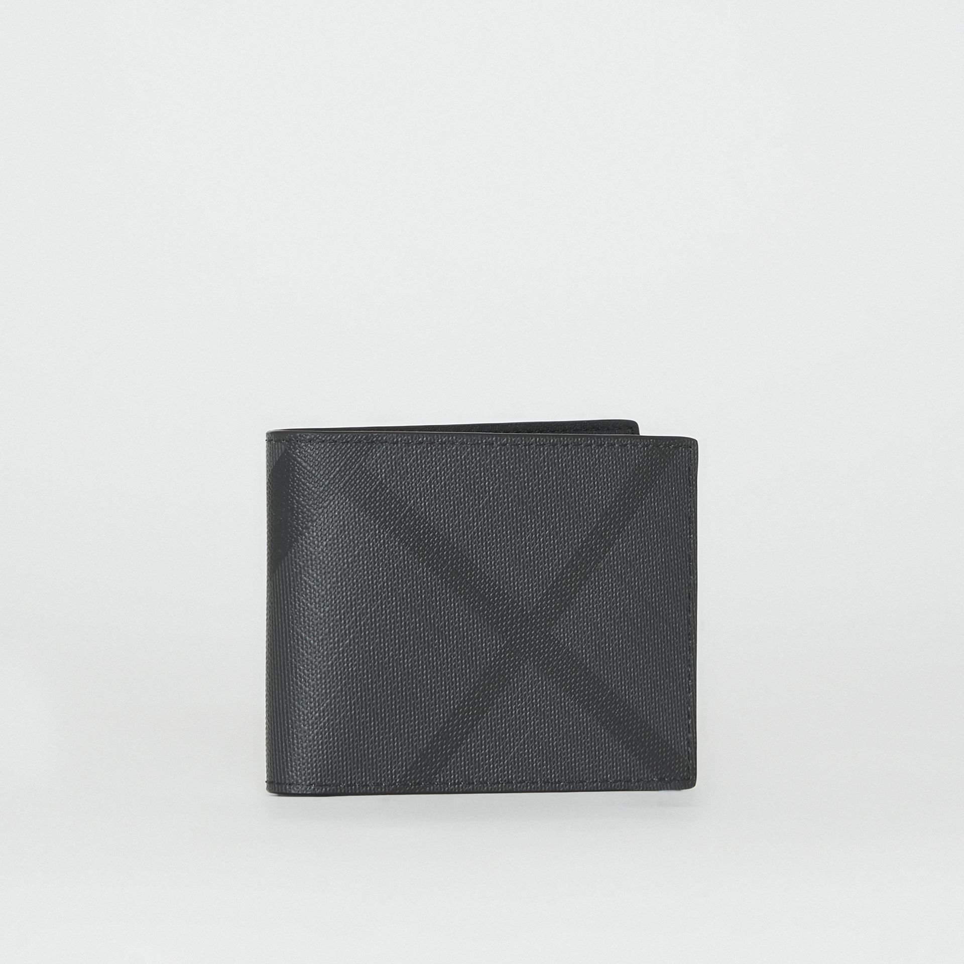 popular brand unique design customers first London Check Bifold Wallet by Burberry