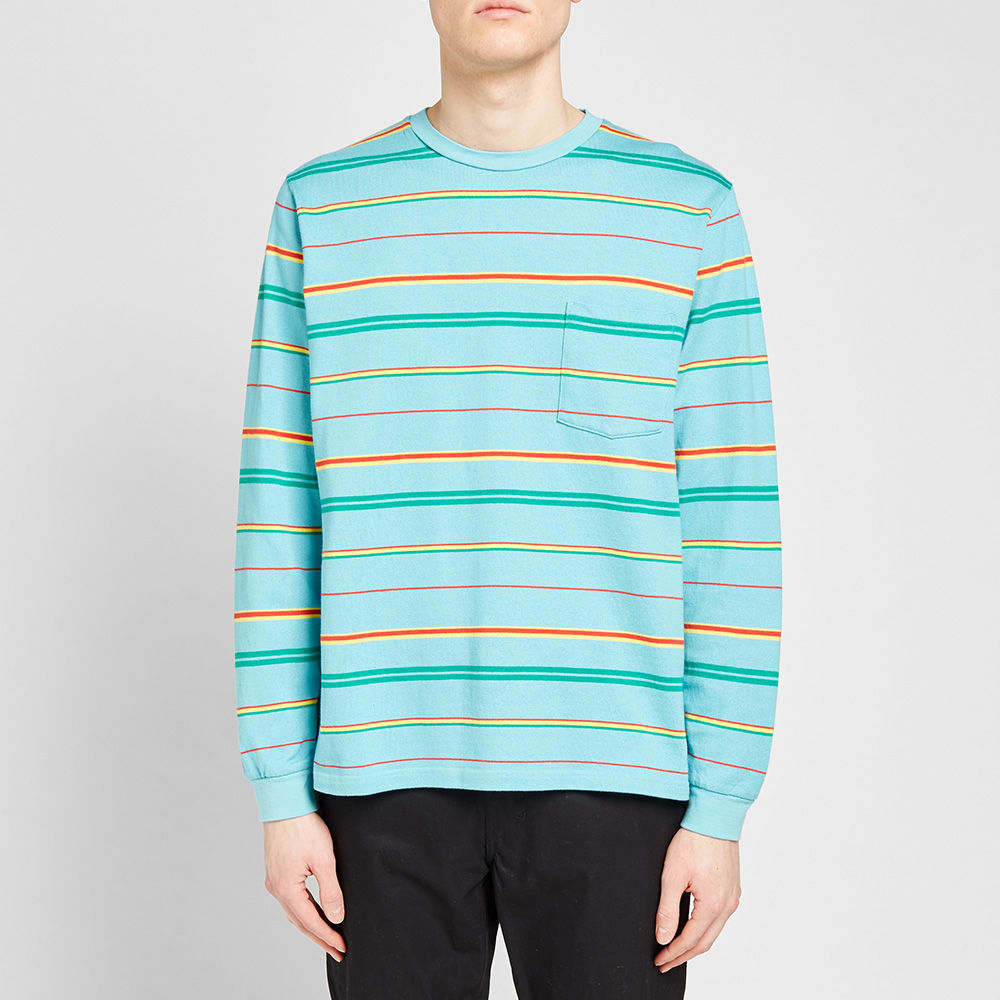 284437484a4 Long Sleeve Stripe Pocket Tee by Beams Plus — Thread