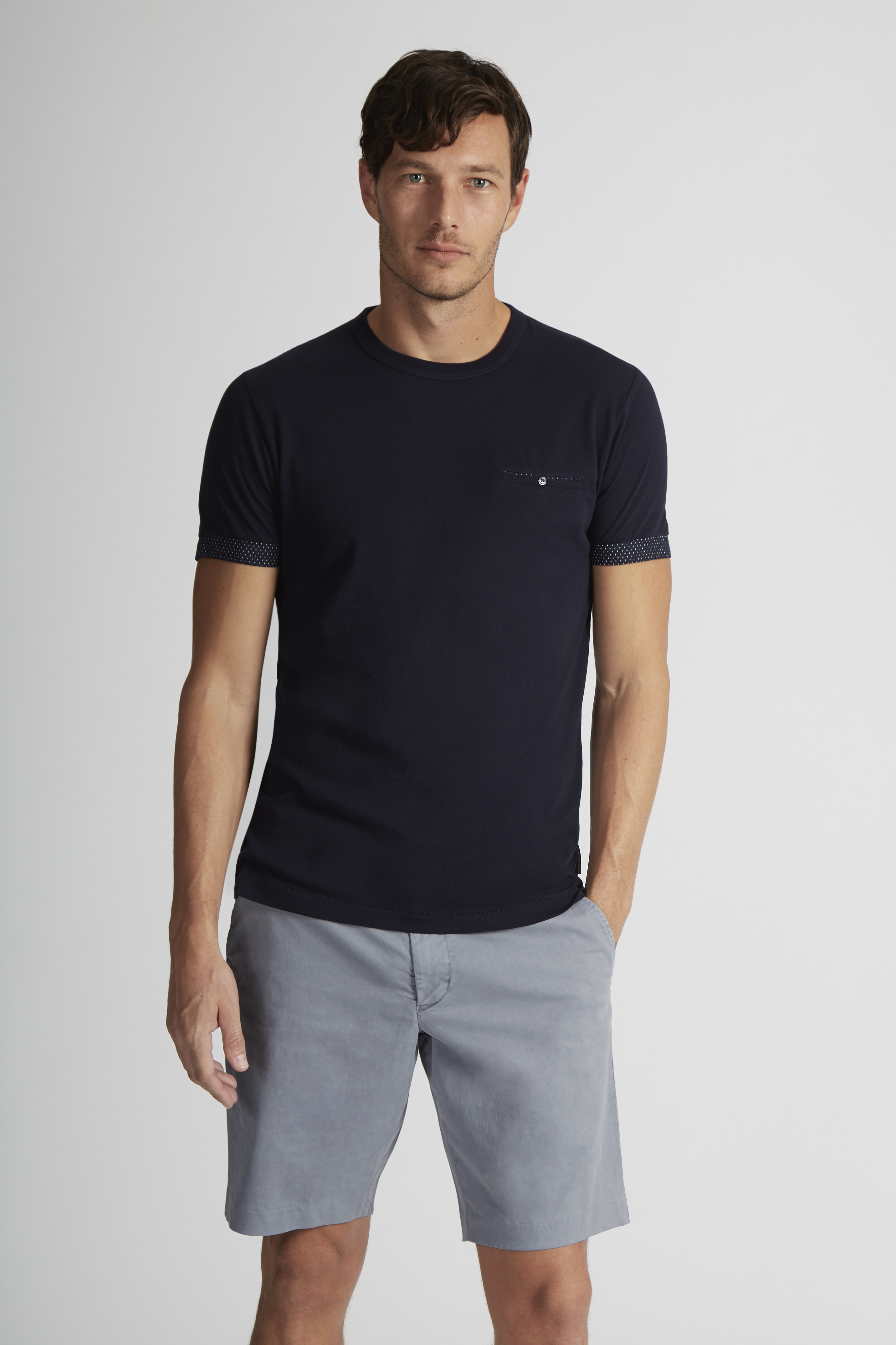 French Connection BLUE LAGOON Chino Shorts