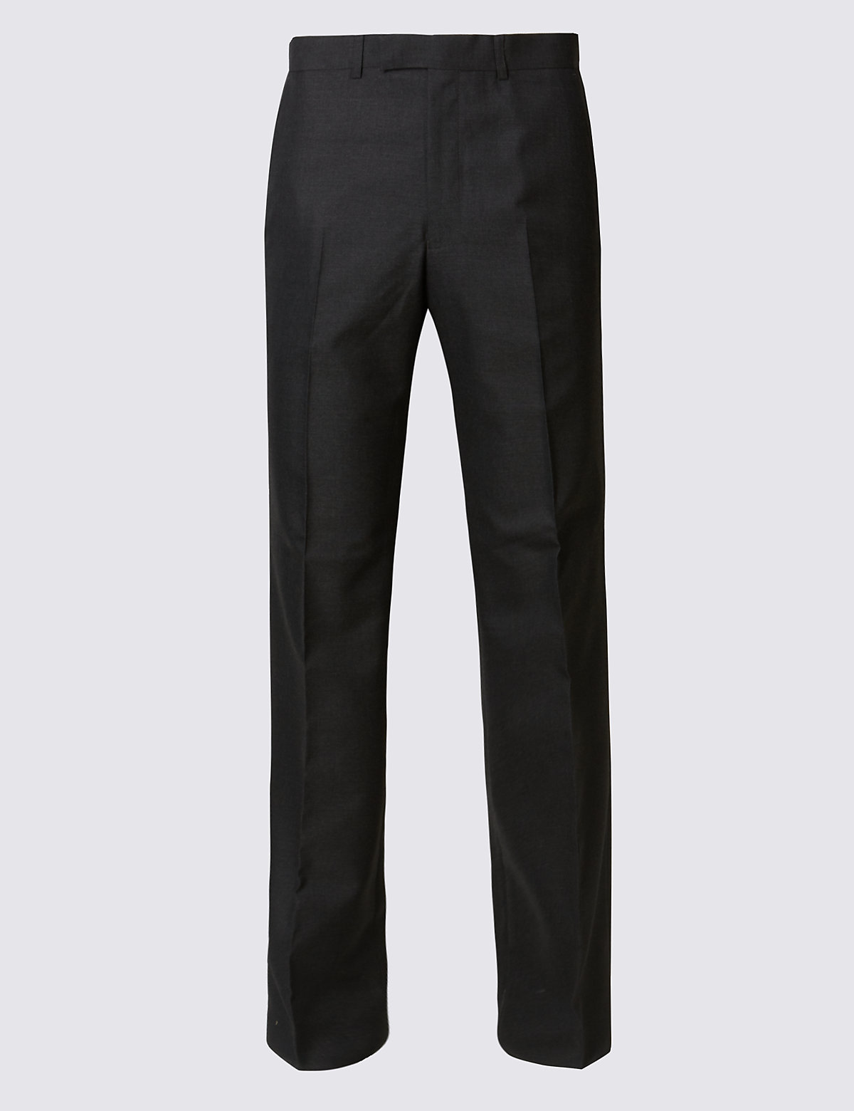 Marks & Spencer Charcoal Regular Fit Trousers