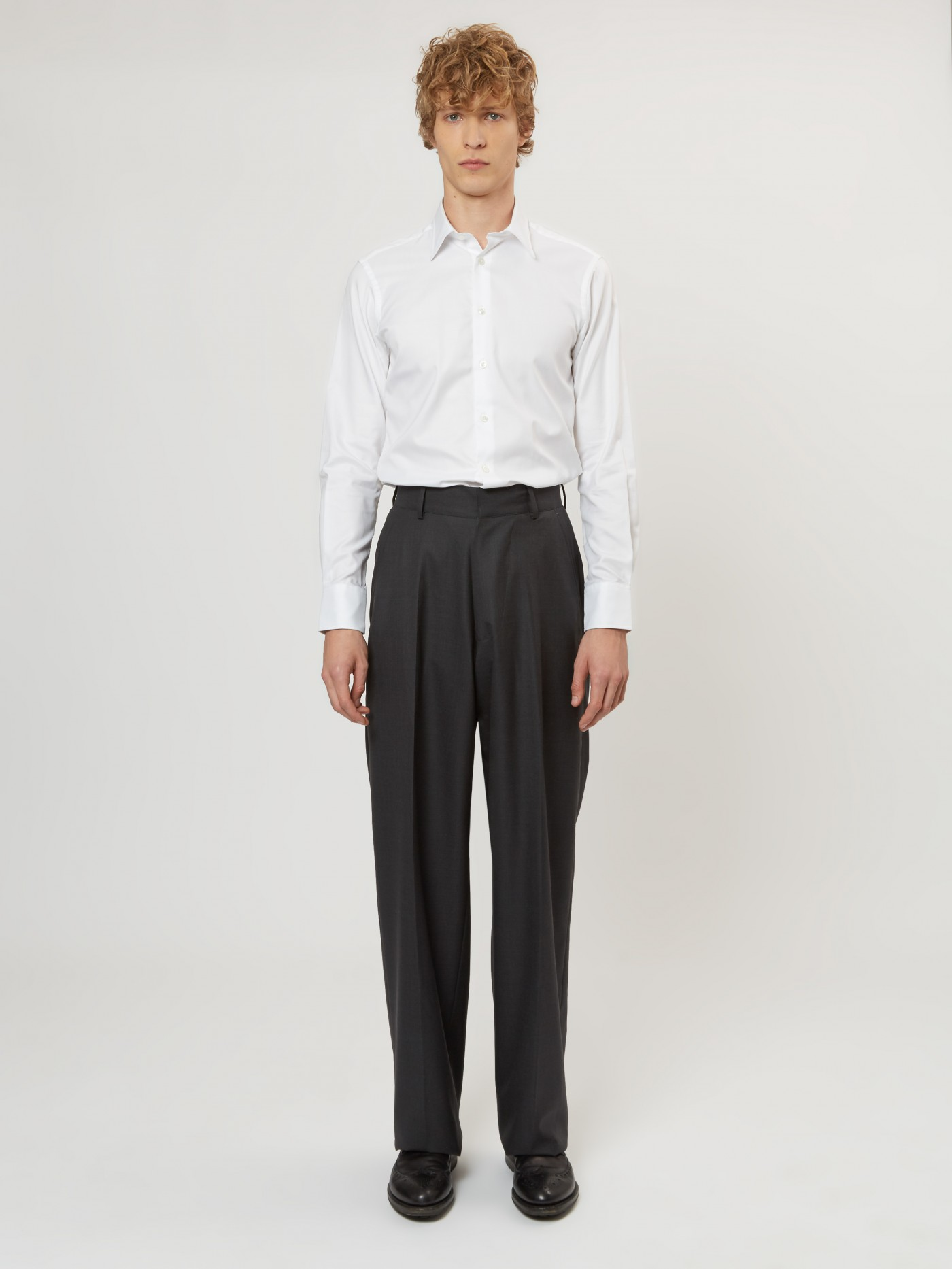 E. Tautz Charcoal Terry Trouser
