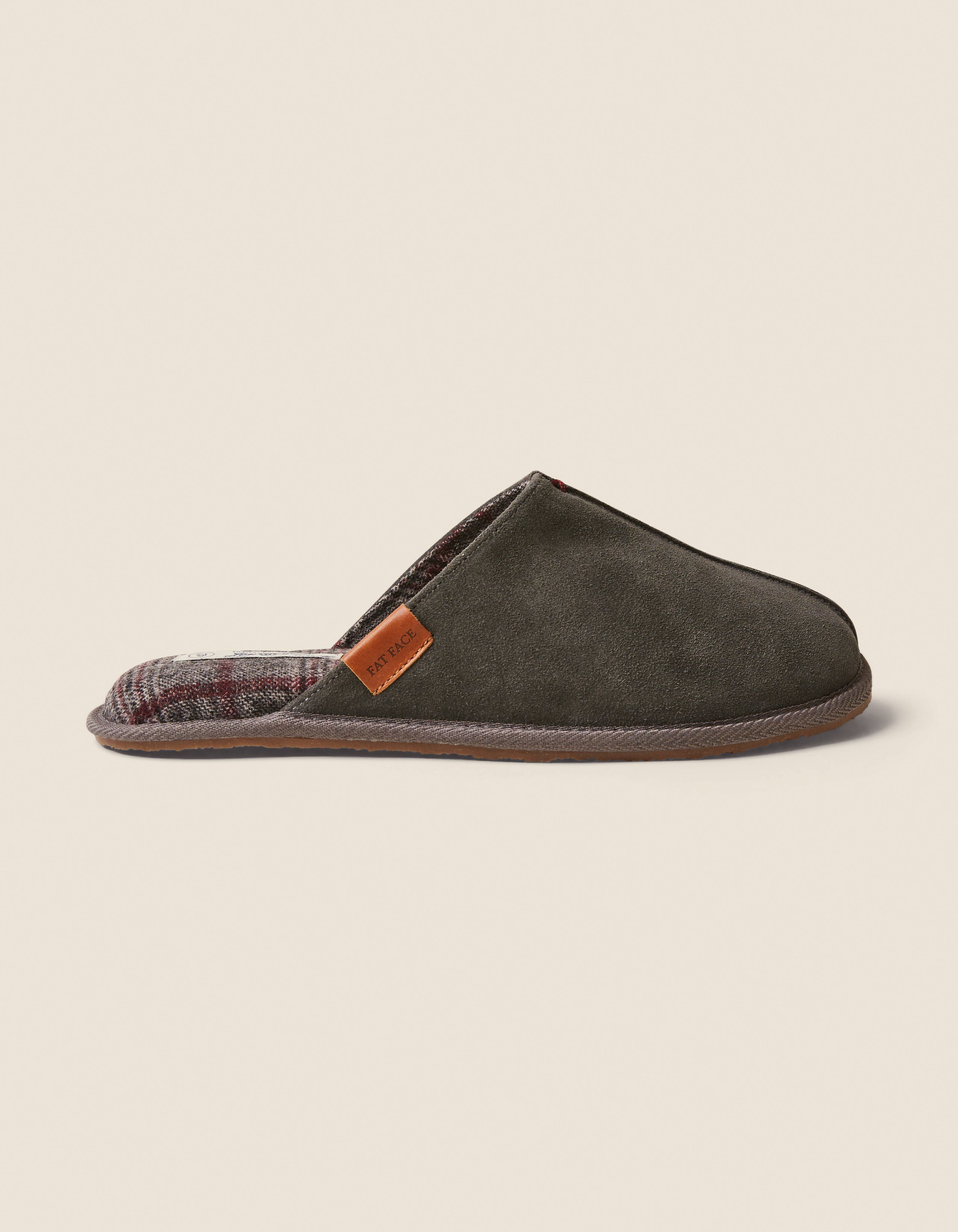 Jerry Suede Mule Slippers by Fat Face