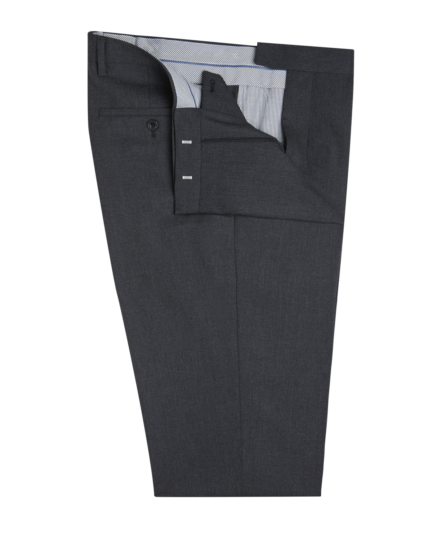 Westminster Charcoal Regular Fit Infinity Suit Trousers By T M Lewin Thread Com
