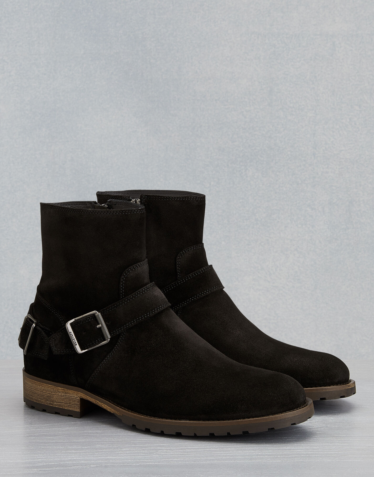 TRIALMASTER SUEDE BOOTS by Belstaff