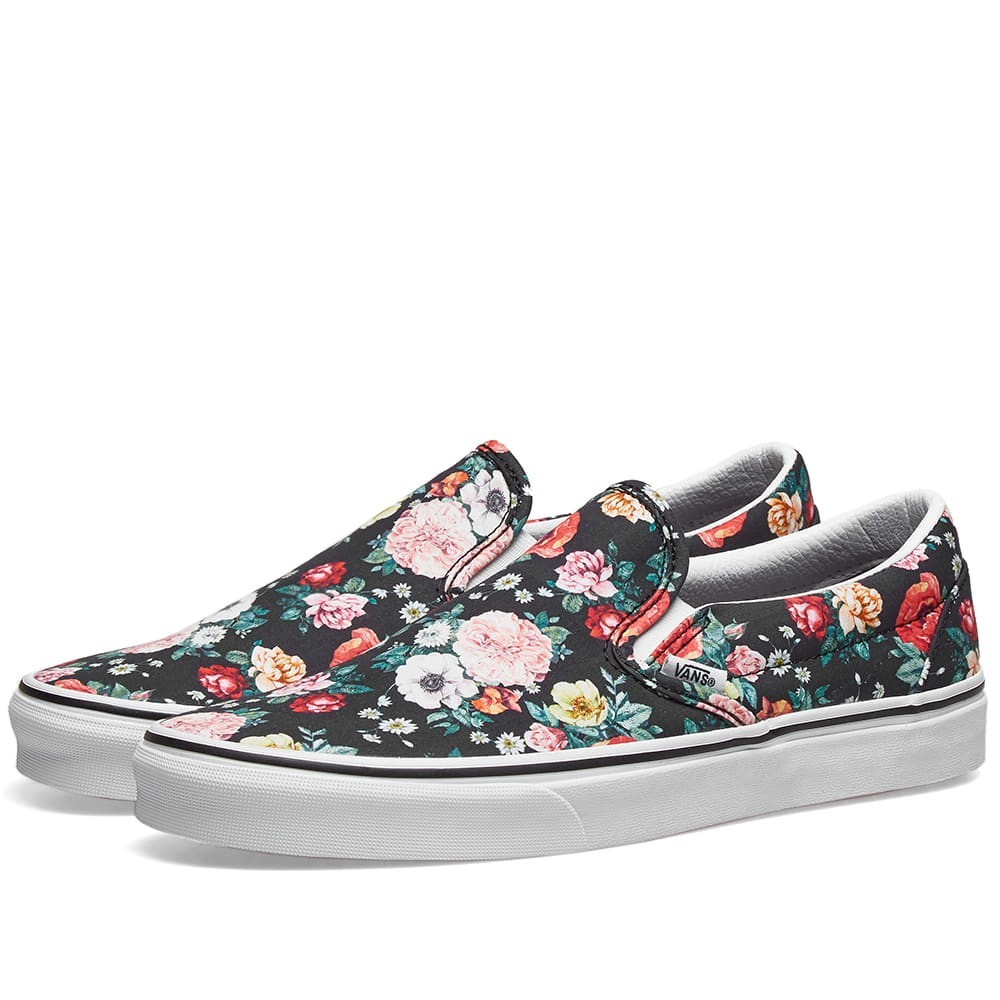 Classic Slip On 'Floral Pack' by Vans