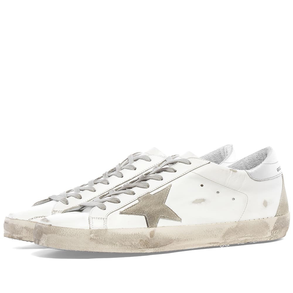 Superstar Leather Sneaker by Golden