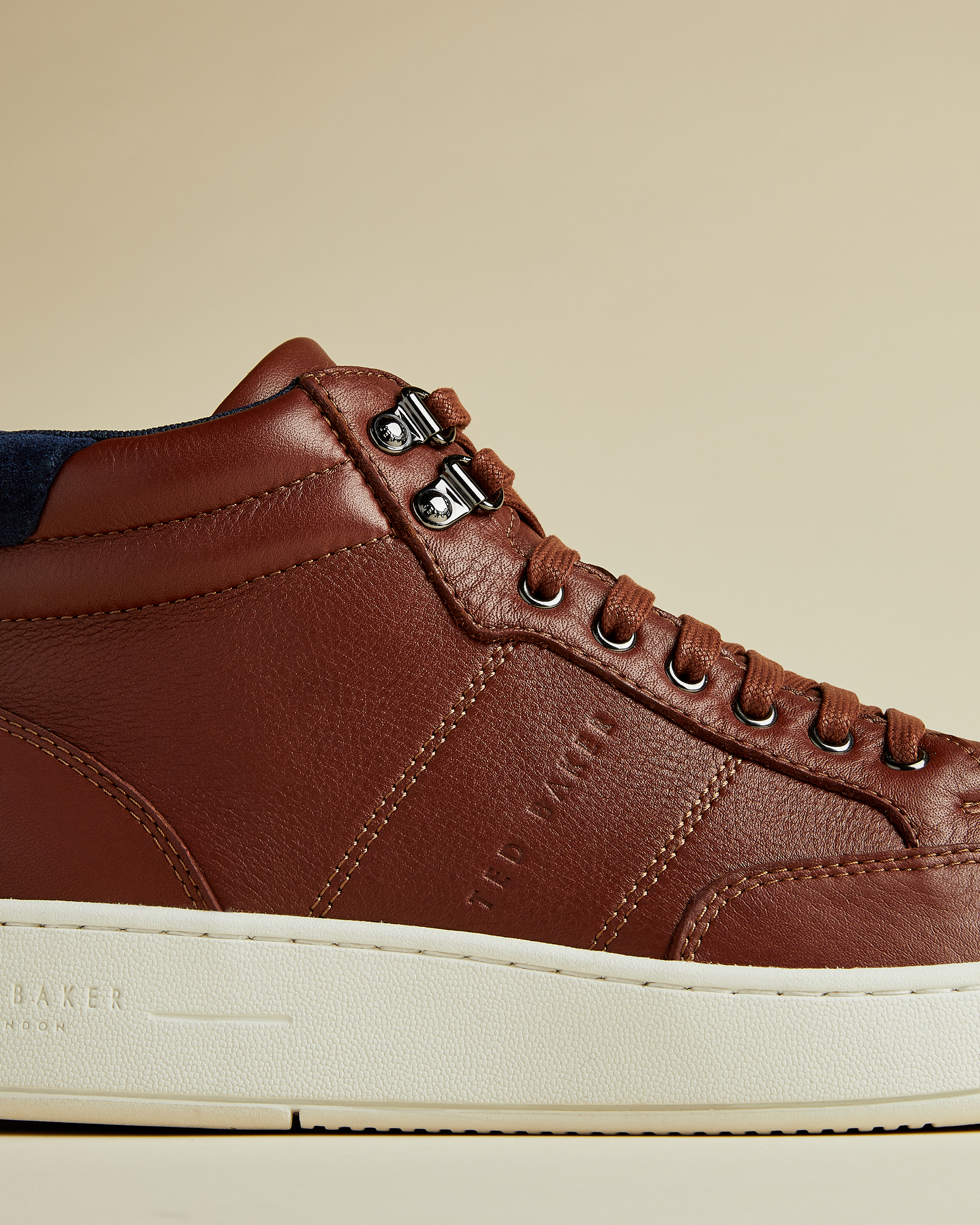 MALANTO Leather trainer boots by Ted