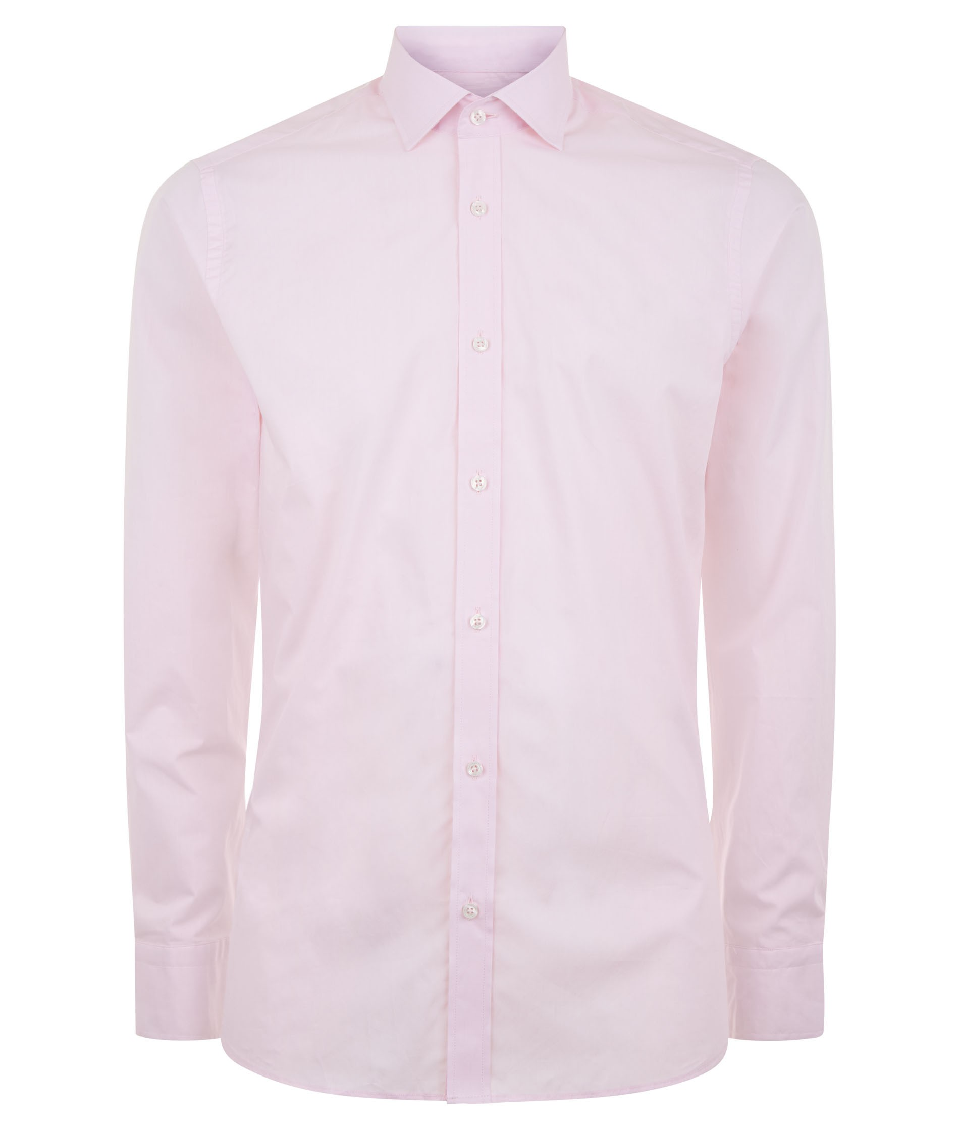 Nigel Hall Pink Regular Fit Classic Style Formal Shirt (Cell)