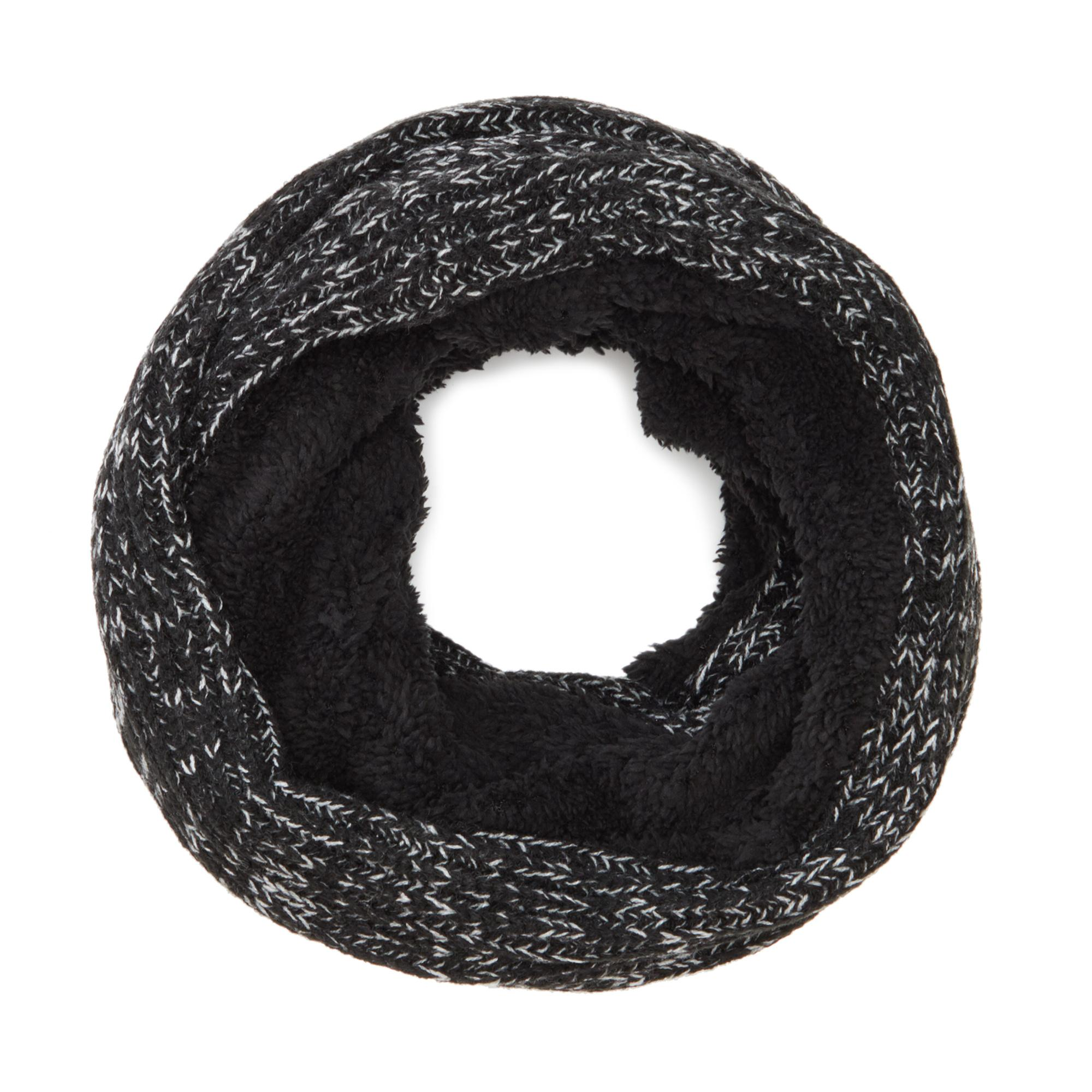 Maine New England Men Black Thermal Knit Beanie One Size