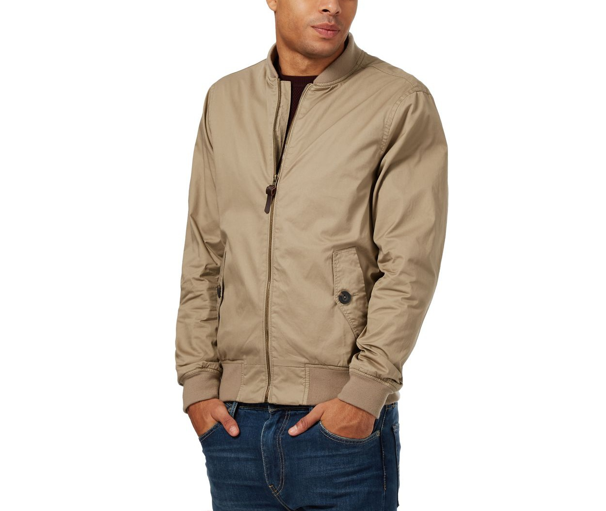Red Herring Natural bomber jacket