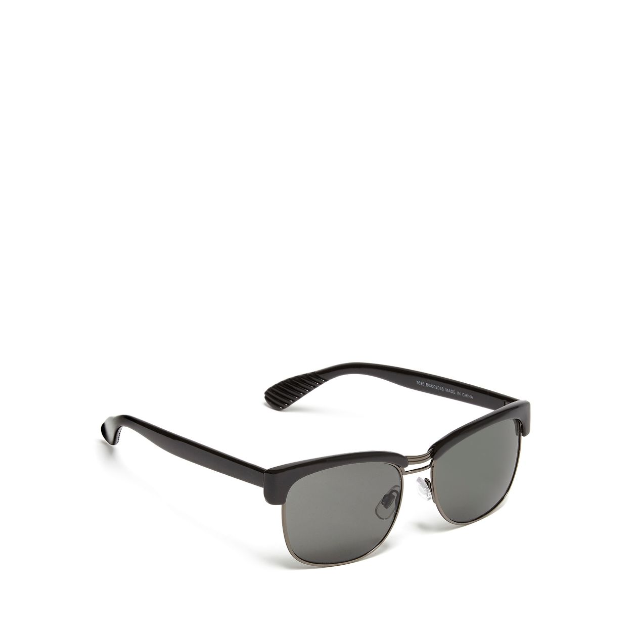 Red Herring Grey Black Clubmaster sunglasses