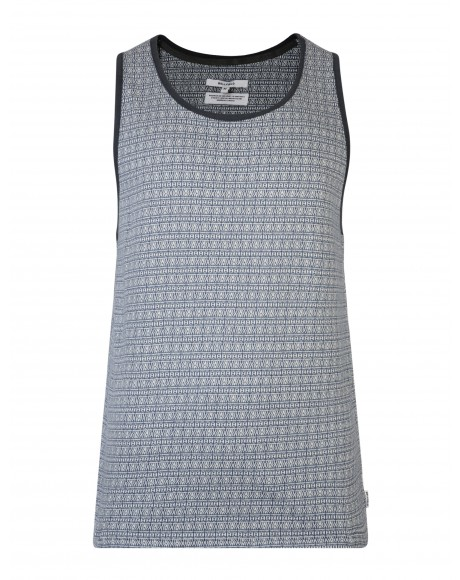 Bellfield Blue Magdala Vest Top