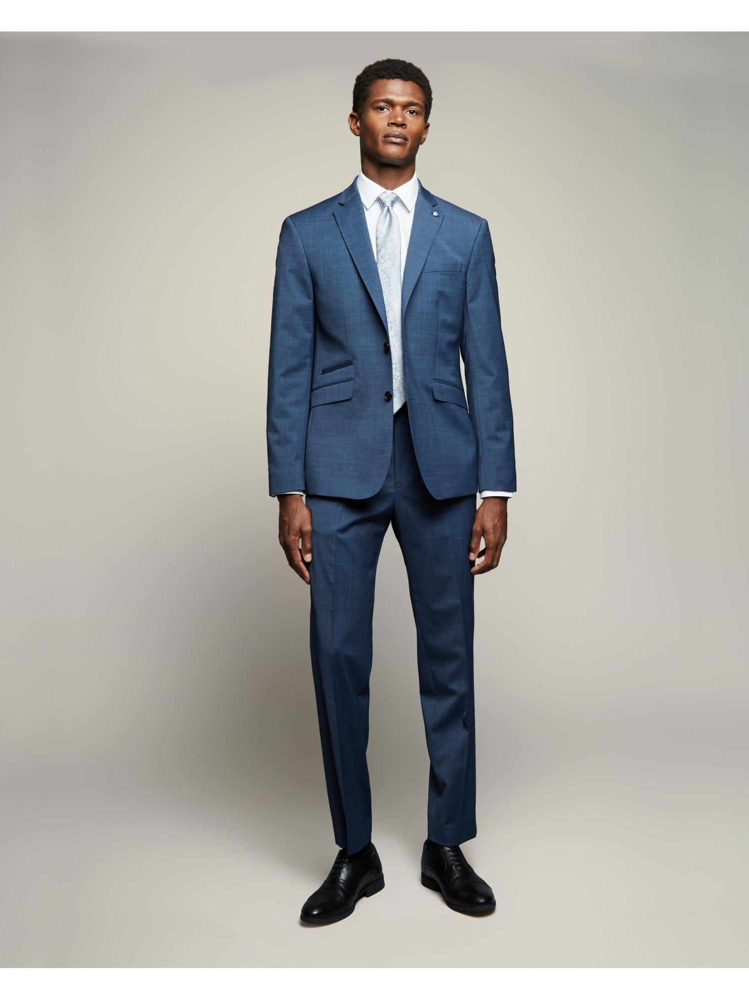 Tailored End On End Suit By Austin Reed Thread Com