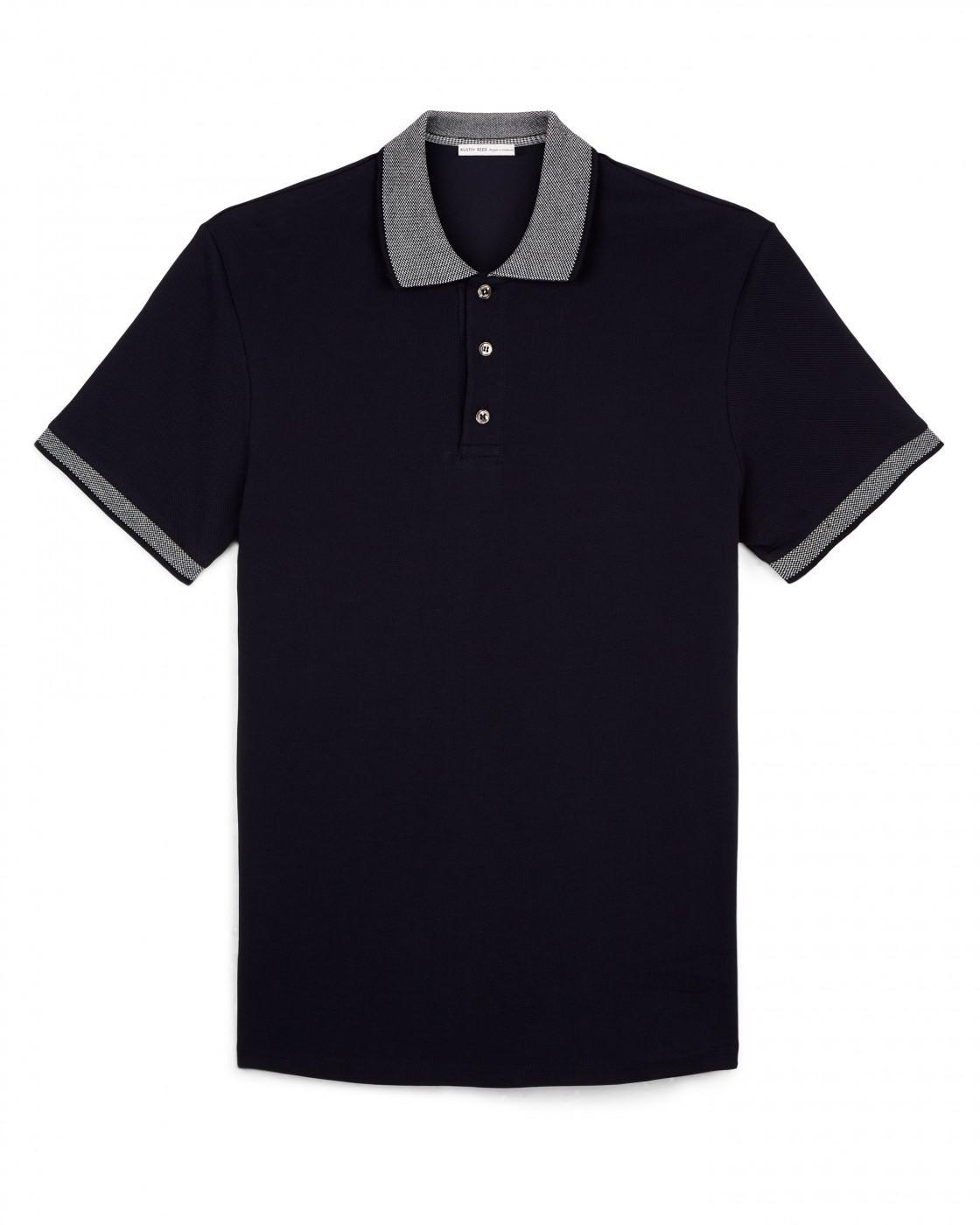 Plain Pique Polo By Austin Reed Thread