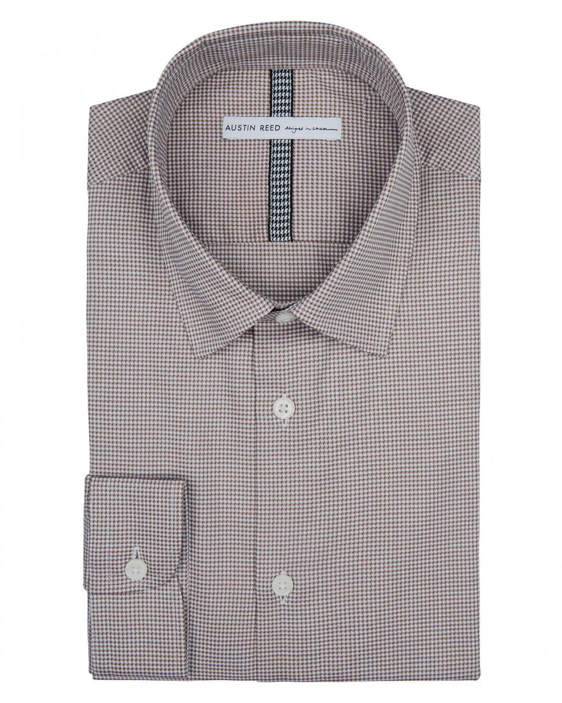 Slim Mini Geo Shirt By Austin Reed Thread