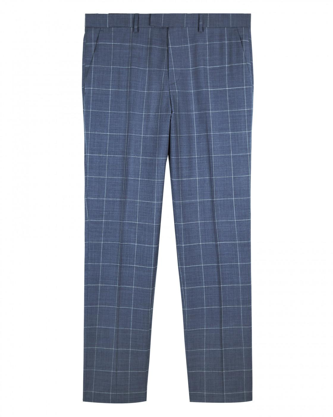 Tailored Large Windowpane Suit Trouser By Austin Reed Thread