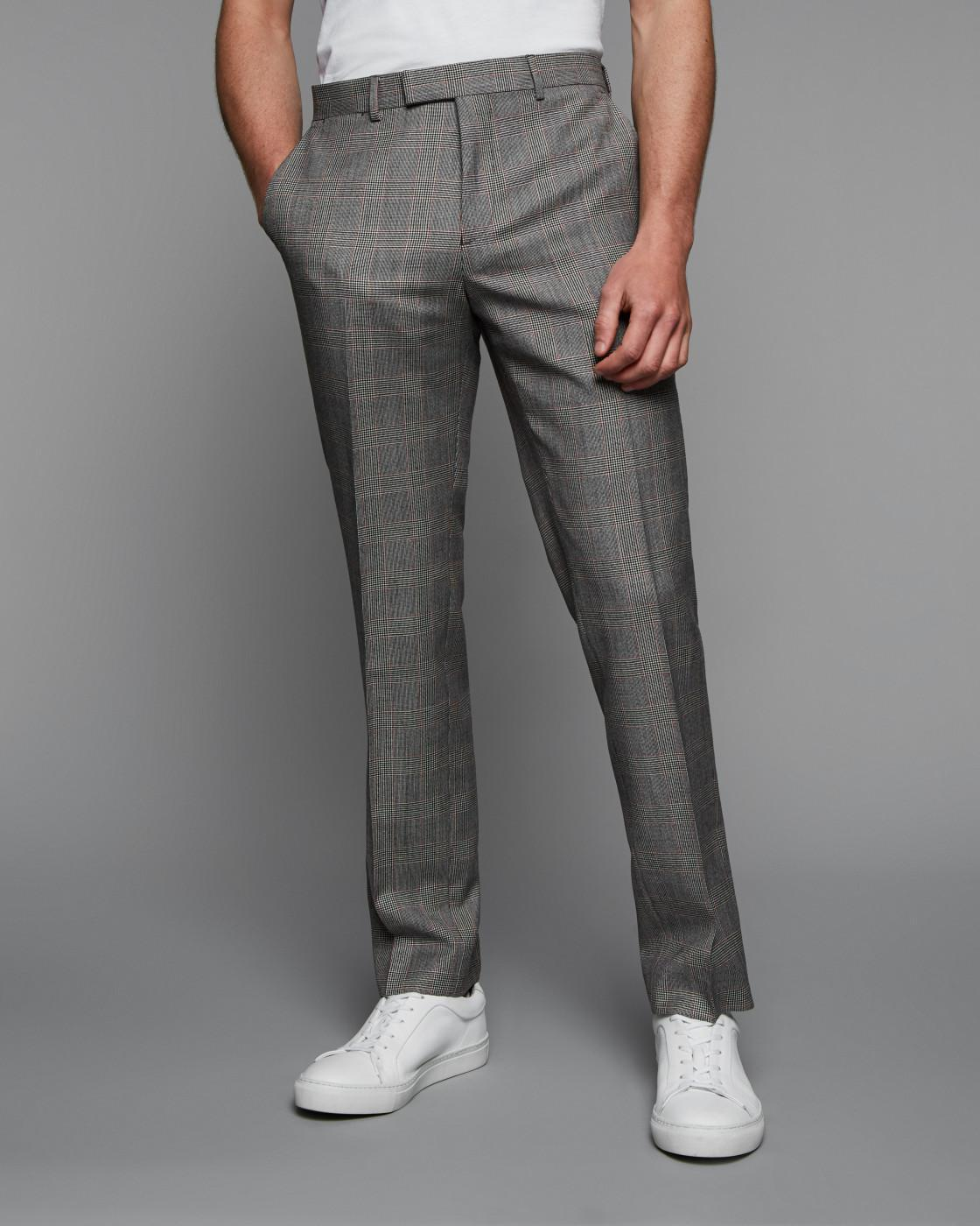 Slim Pow Check Trouser By Austin Reed Thread Com