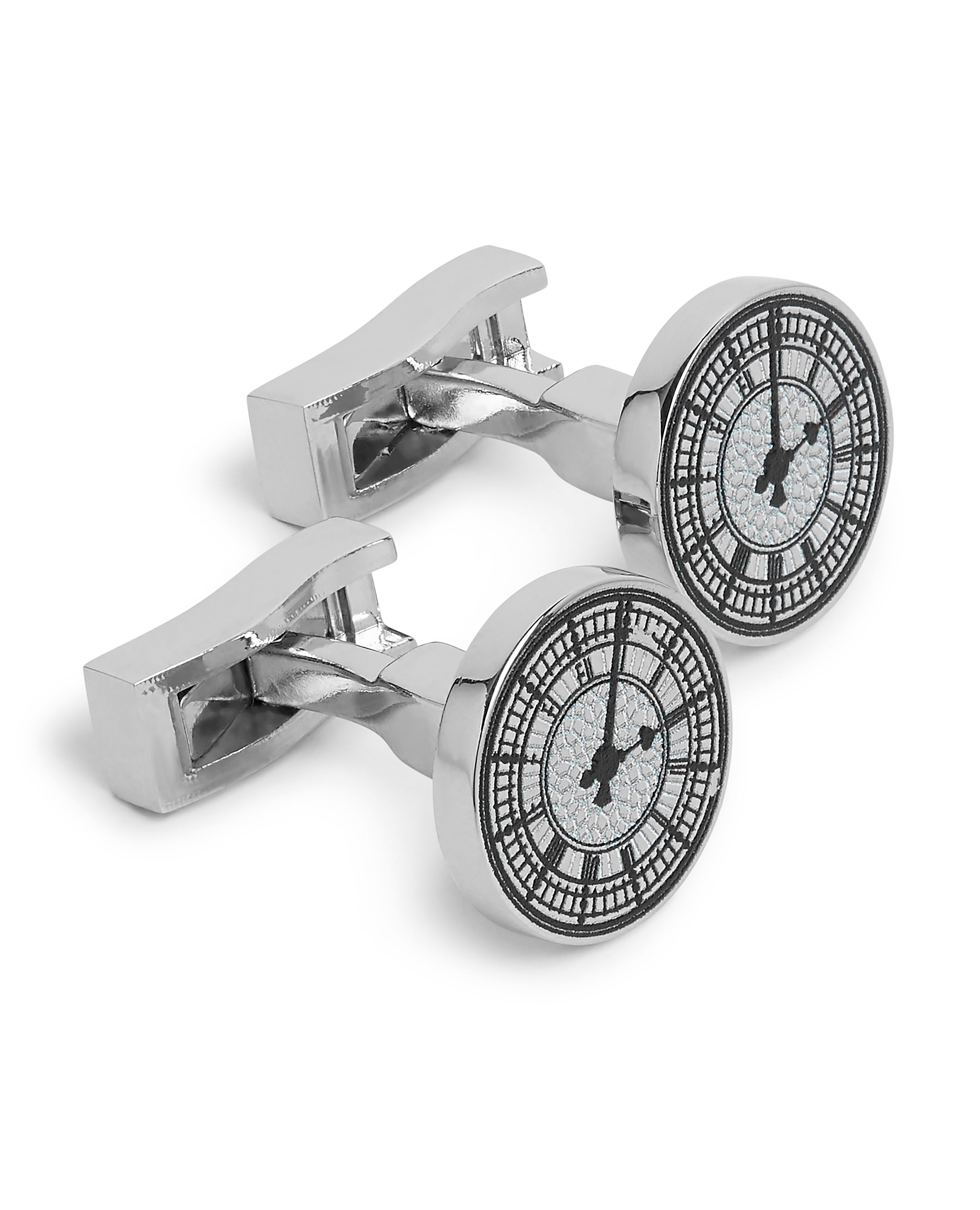 London Landmark Inspired Clock Face Cufflinks By T M Lewin Thread Com