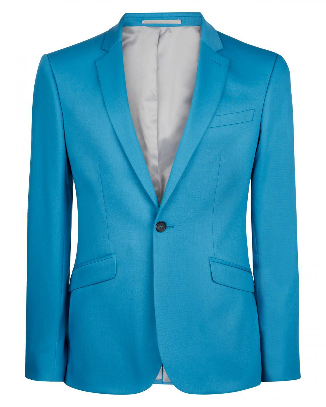 Skinny Teal Suit Jacket By Austin Reed Thread Com