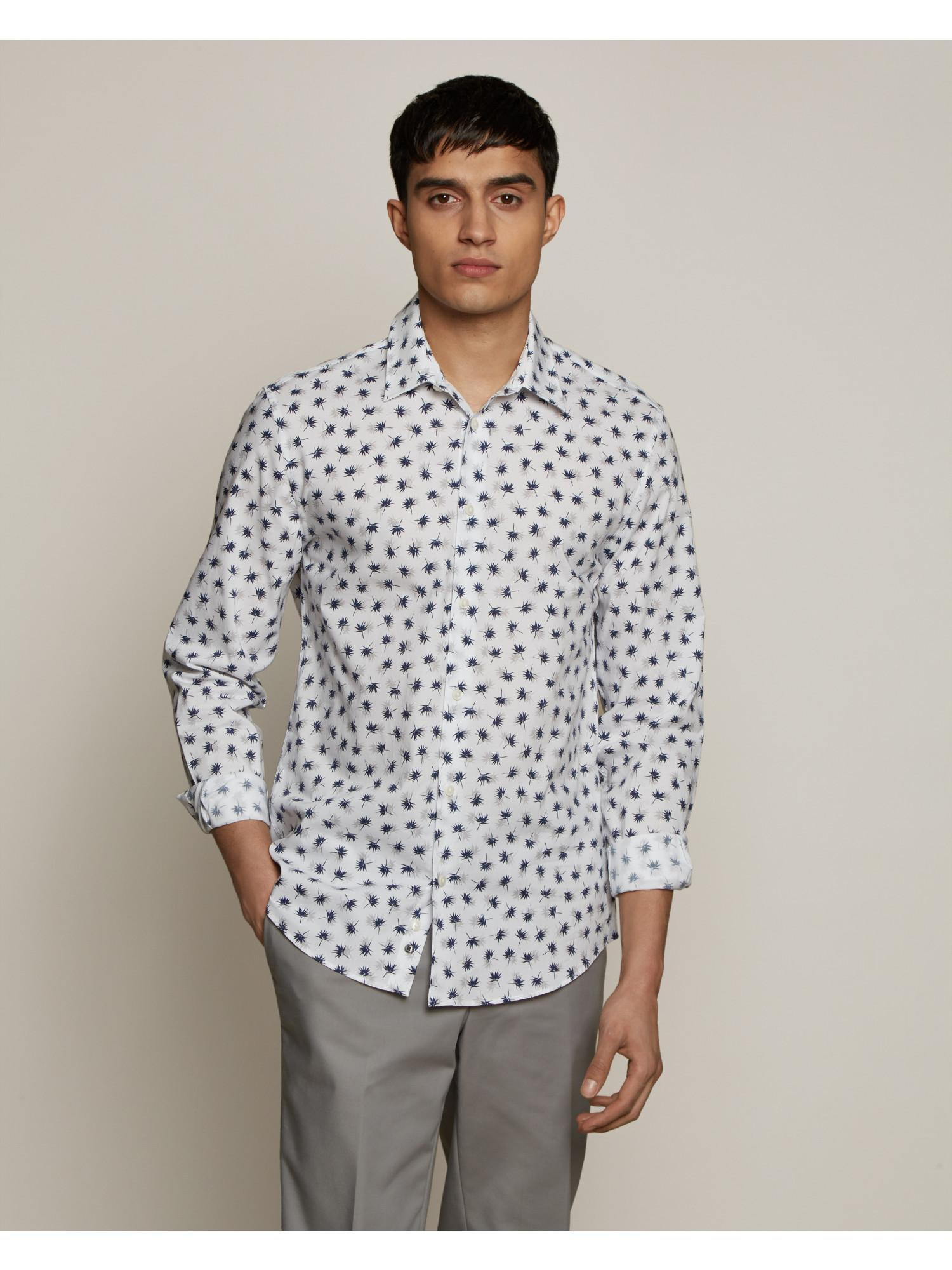 Palm Printed Shirt By Austin Reed Thread