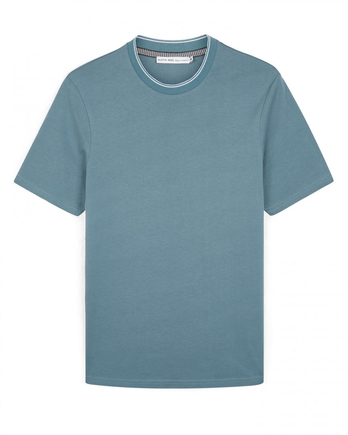 Crew Neck Plain T Shirt By Austin Reed Thread Com