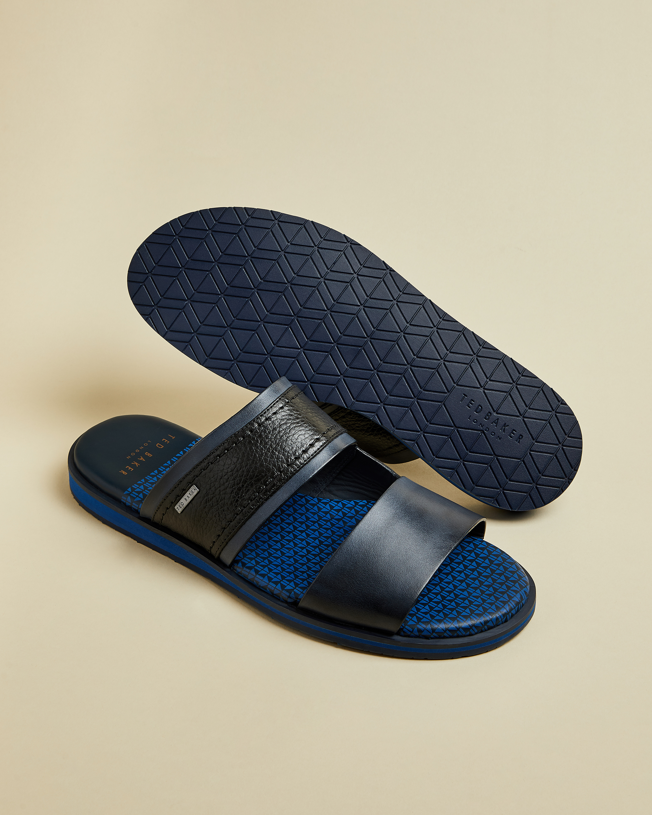 FARLEX Leather sandals by Ted Baker