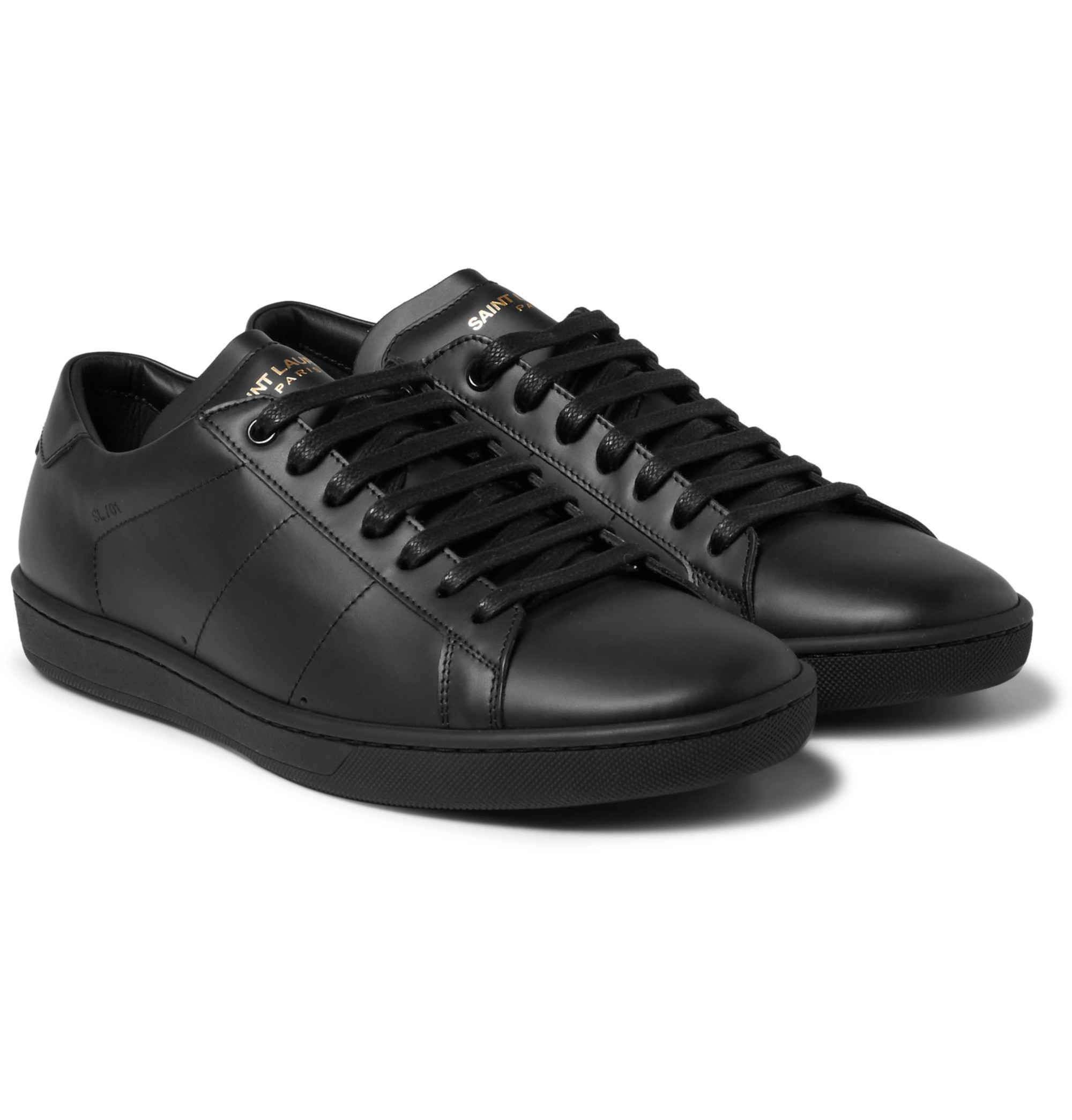 SL/01 Court Classic Leather Sneakers by
