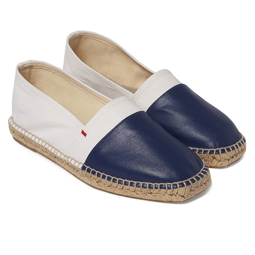 Orlebar Brown White/Navy SUTTON White / Navy Espadrilles