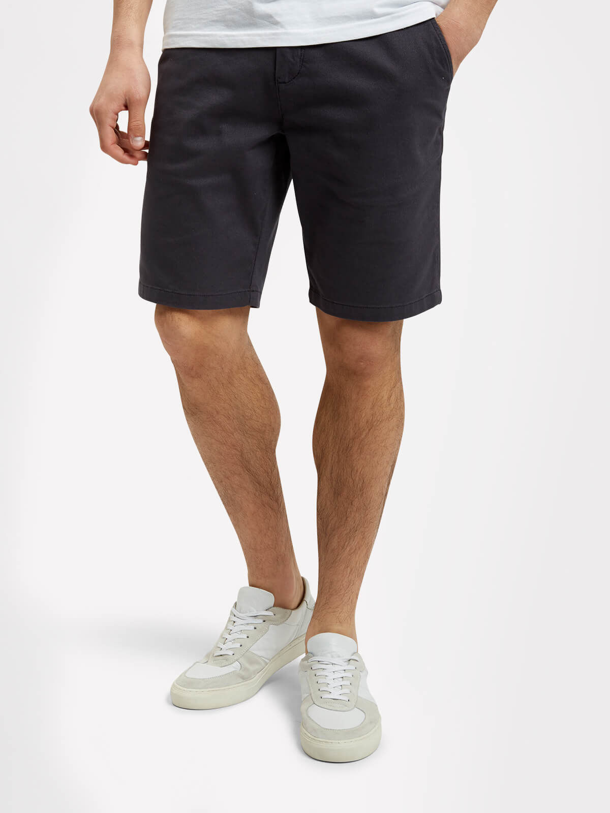 Lyle and Scott Washed Grey Shorts