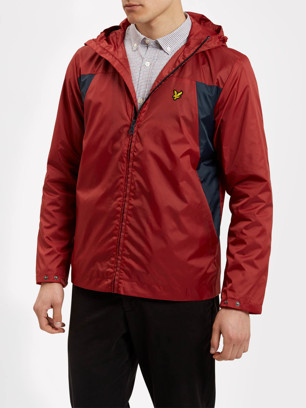 Lyle and Scott Pomegranate Lightweight Jacket