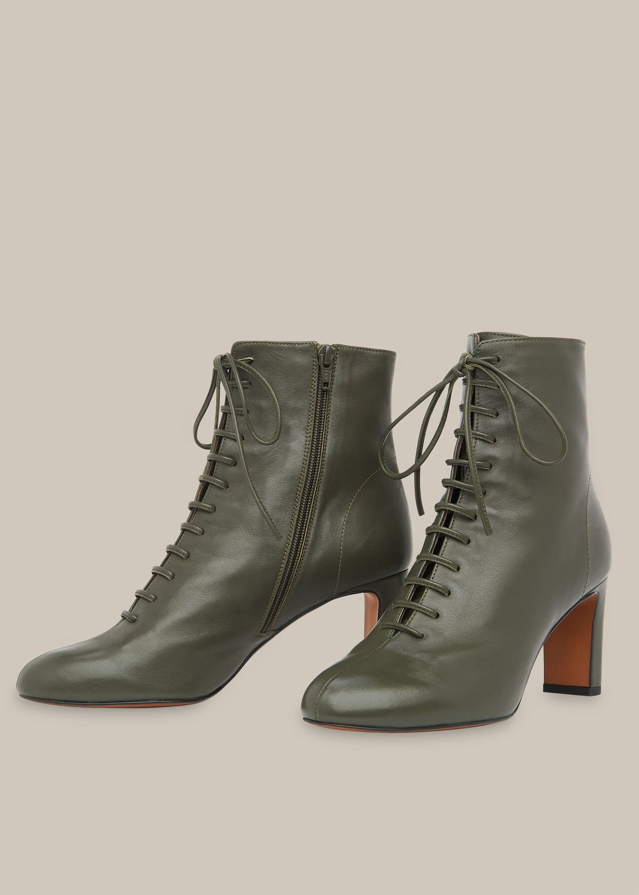 Dahlia Lace Up Boot by Whistles — Thread