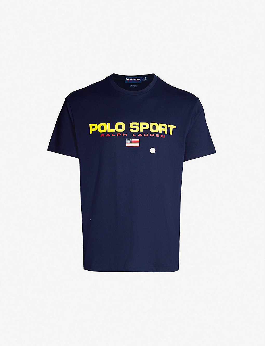 Polo Sport-print cotton-jersey T-shirt by