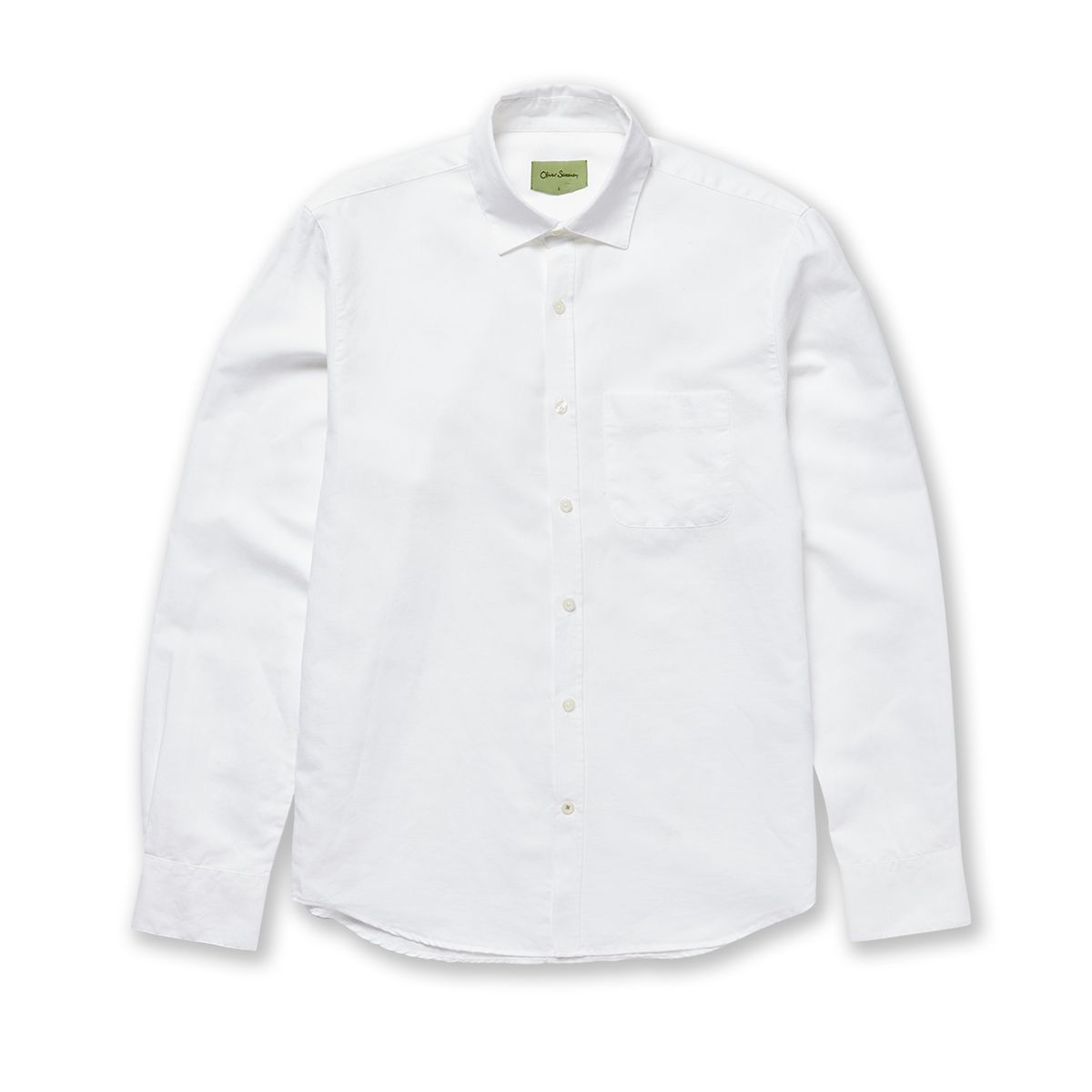 Christow White Cotton Linen Casual Shirt By Oliver Sweeney Thread Com