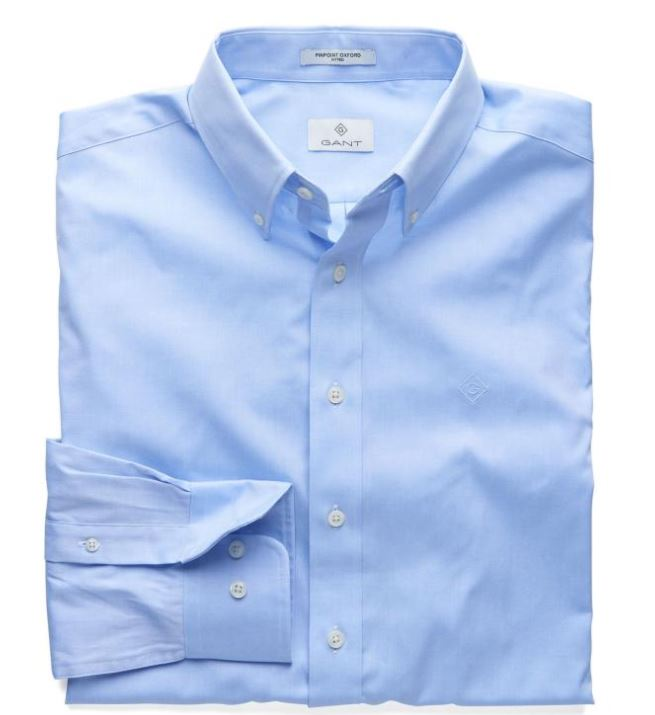 Gant CLAY BLUE G, THE PERFECT OXFORD LS