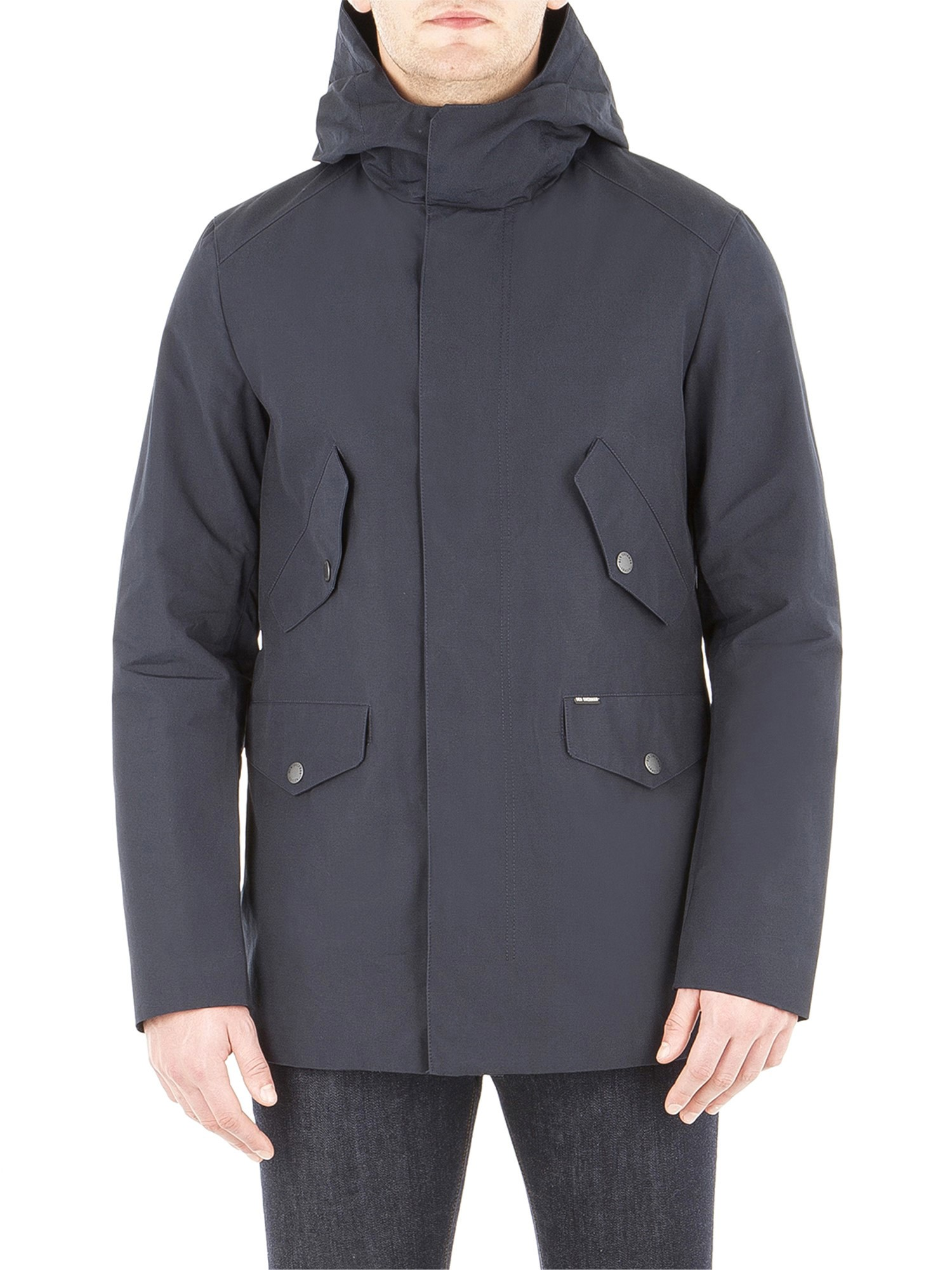 Ben Sherman Staples Navy Urban Cotton Parka