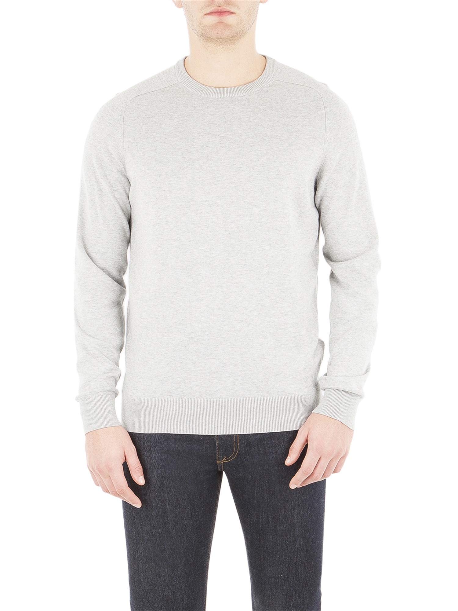 Ben Sherman Oxford Cotton Crew Neck