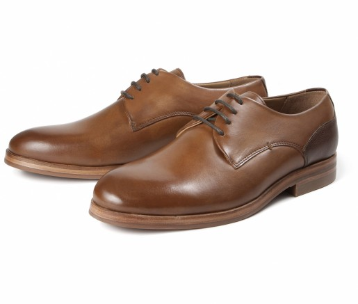 Hudson Shoes Enrico Tan Derby Shoe