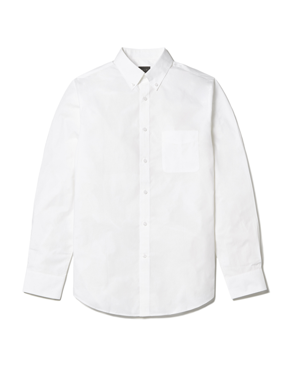MVP Tillman Slim Fit Cotton Poplin Shirt - White