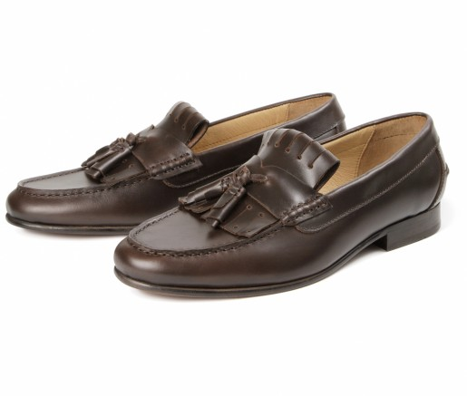 Hudson Shoes Gian Brown Loafer