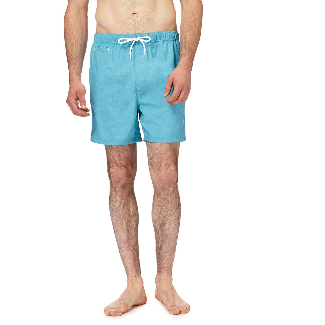 Red Herring Turquoise Blue swim shorts