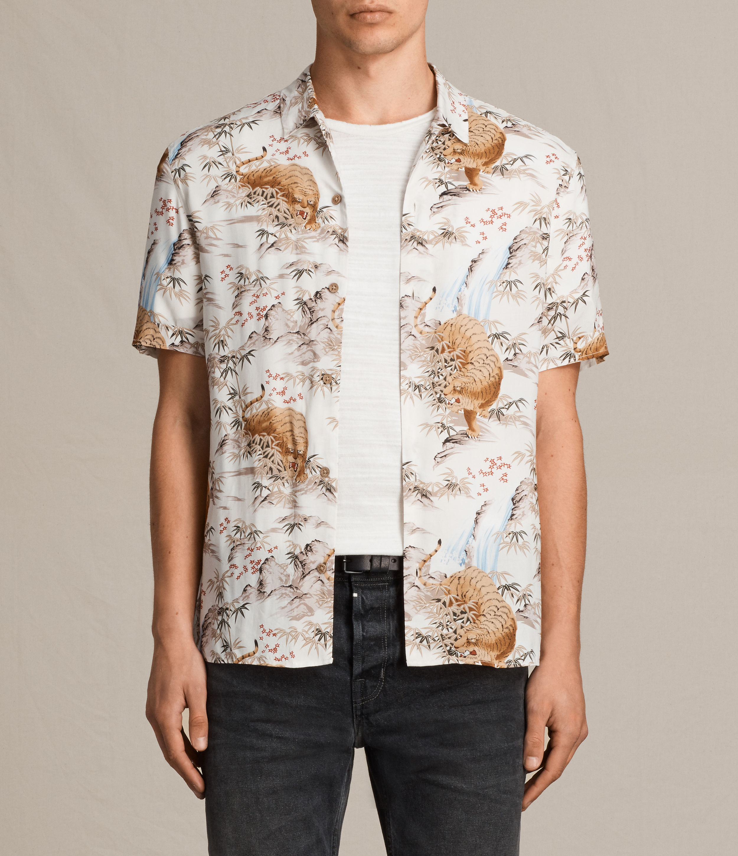 sumatra short sleeve shirt by allsaints thread