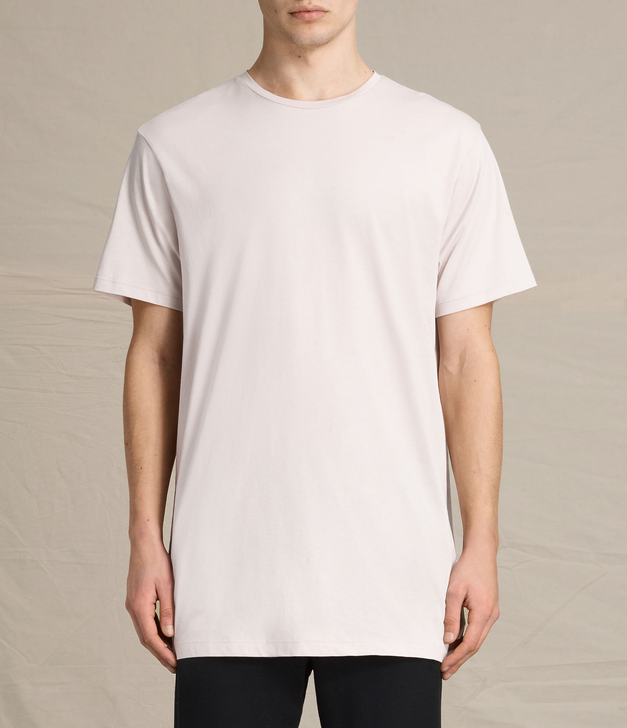 AllSaints Rose Grey Astra Crew T-Shirt