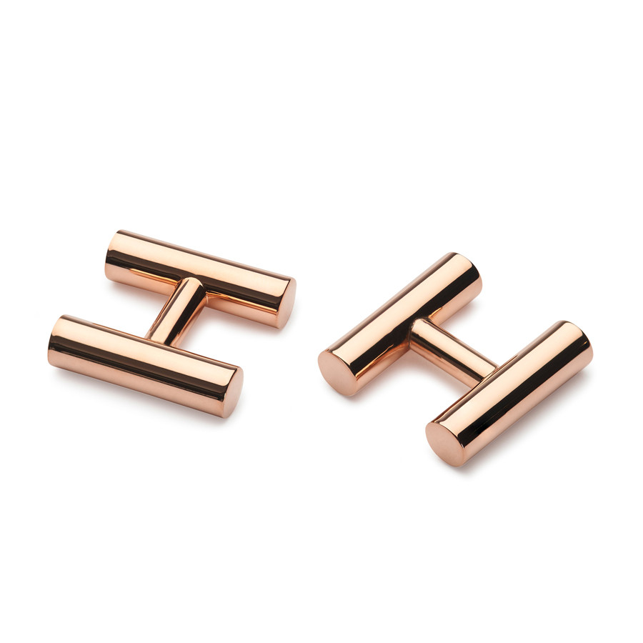 Alice Made This Rose Gold Kitson silver cufflinks