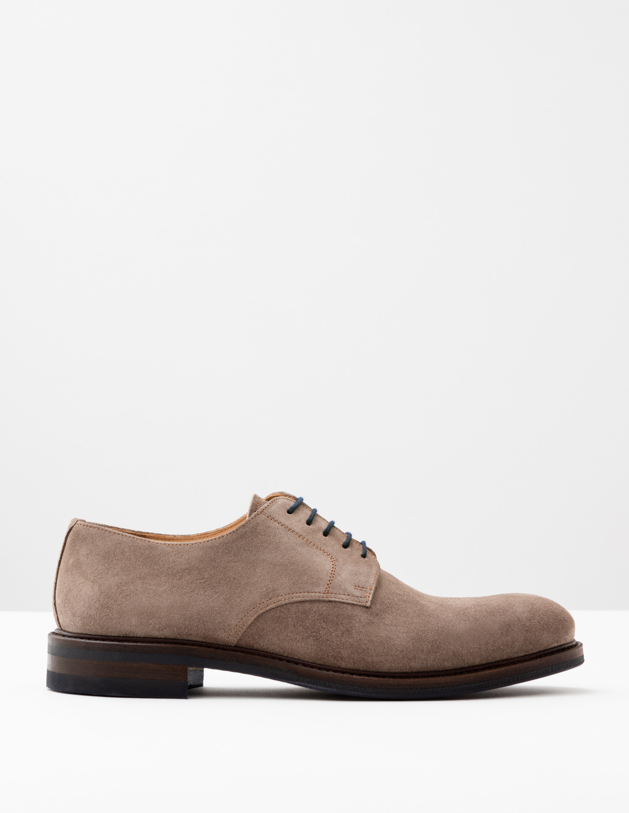 Boden Cement Suede Corby Derby Shoes